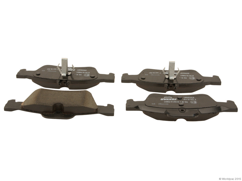 FBS - Textar ePad Epad Brake Pad Set With Shims (Rear) - B2C W0133-1976012-TXE
