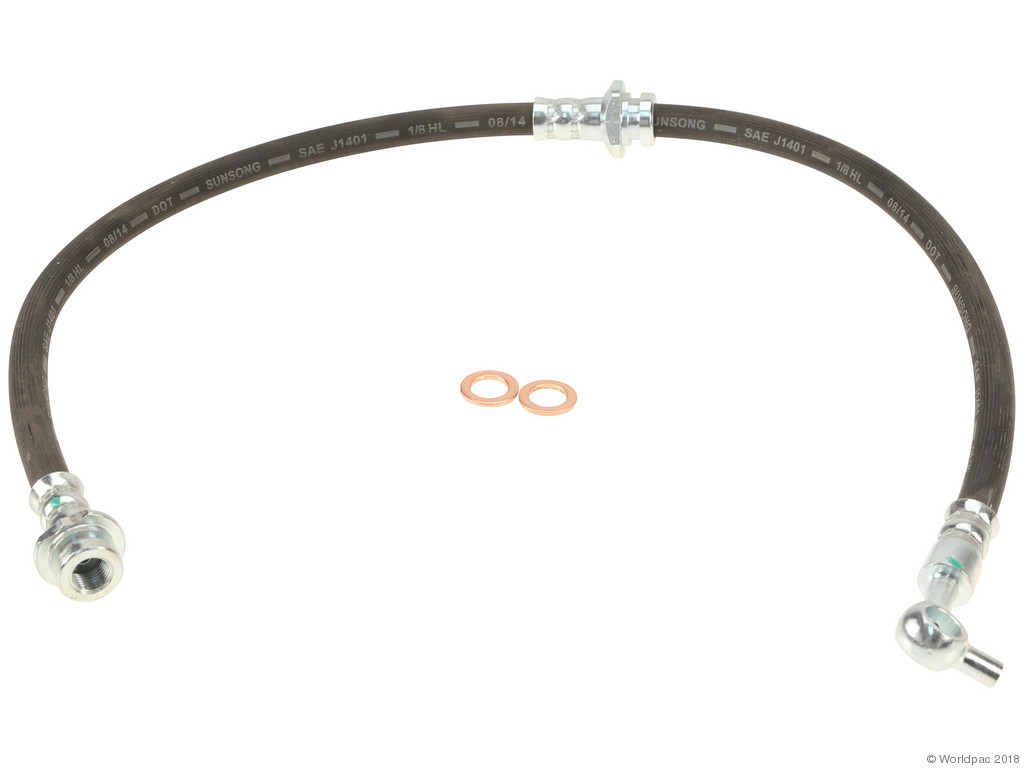 FBS - Dorman First Stop Brake Hose (Front Right) - B2C W0133-1976704-DOR