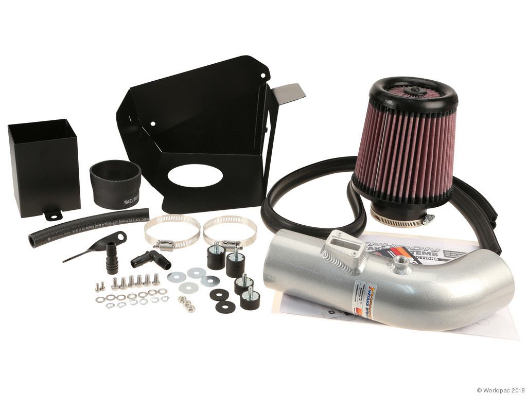 FBS - K&N 69 Series CA Cold Air Intake Air Intake Kit Typhoon / Silver - B2C W0133-1976727-KN