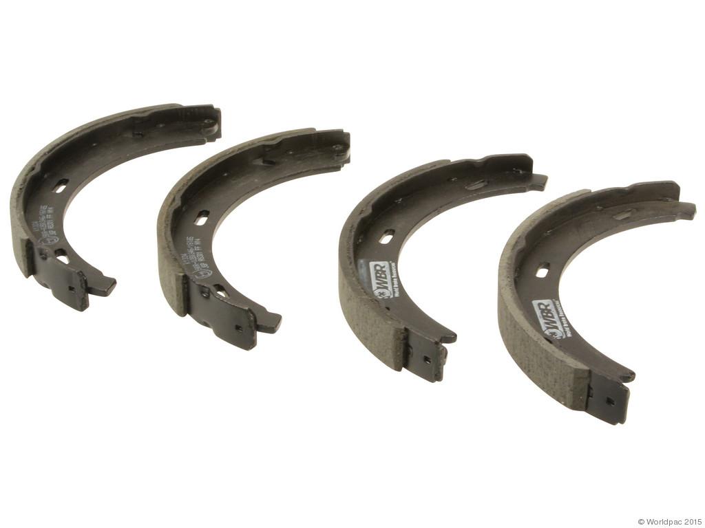 FBS - WBR Parking Brake Shoe Set w/o Hardware - B2C W0133-1978947-WBR