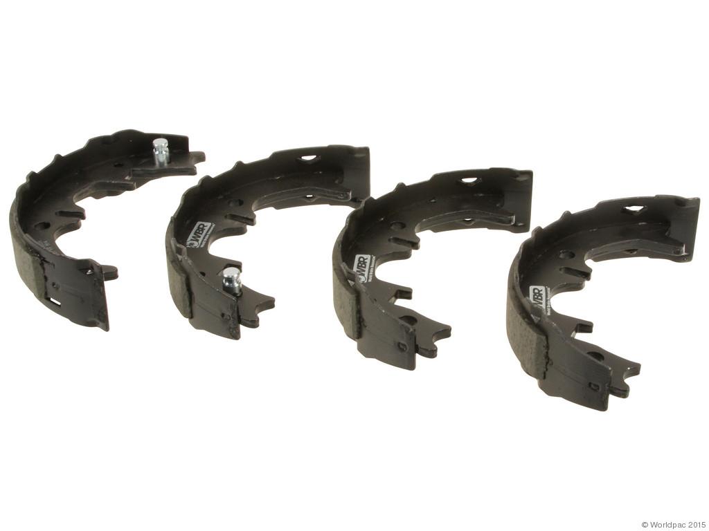 FBS - WBR Parking Brake Shoe Set - B2C W0133-1978958-WBR