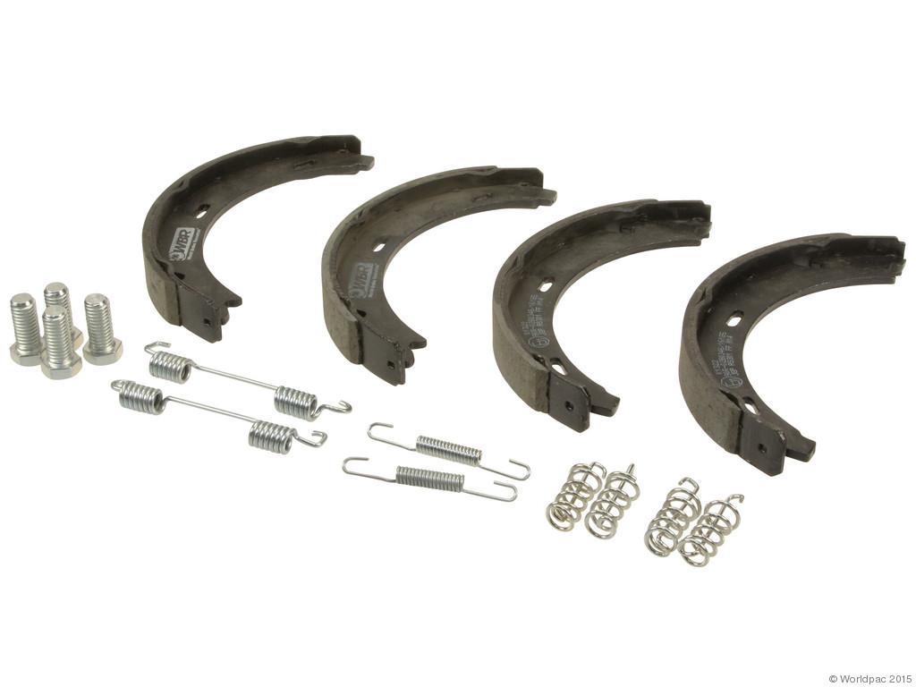 FBS - WBR Parking Brake Shoe Set (Rear) - B2C W0133-1979005-WBR