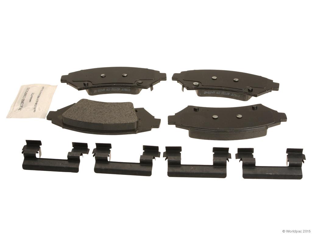 FBS - ACDelco GM OE Brake Pad Set (Front) - B2C W0133-1980629-ACD