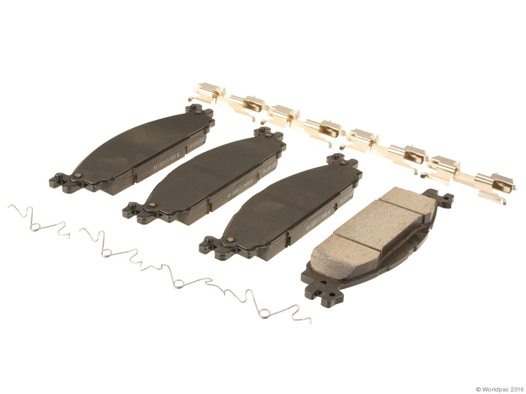 FBS - Motorcraft OE Formulated Brake Pad Set (Front) - B2C W0133-1994307-MTR