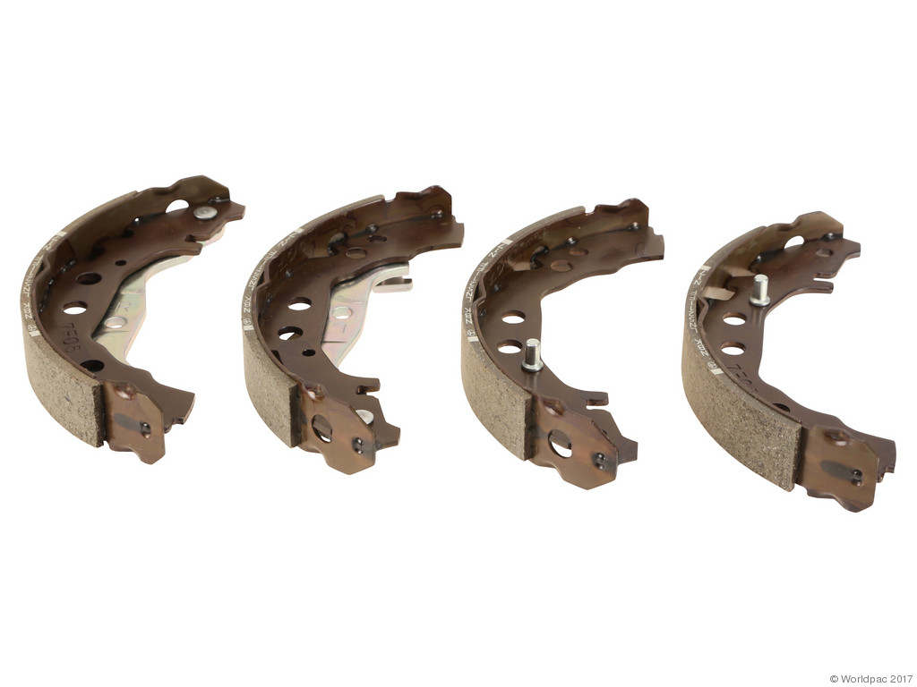 FBS - Genuine Drum Brake Shoe Set (Rear) - B2C W0133-1994331-OES