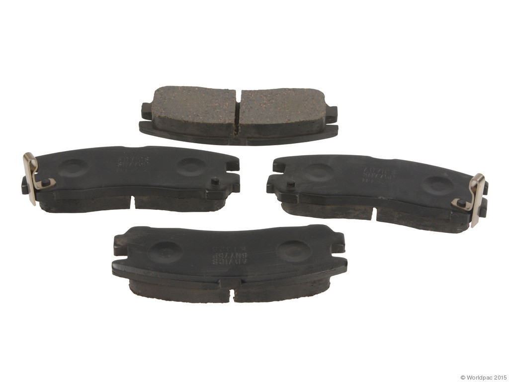 FBS - Advics-Sumi OE Formulated Brake Pad Set w/o Shims (Rear) - B2C W0133-2034863-ADS