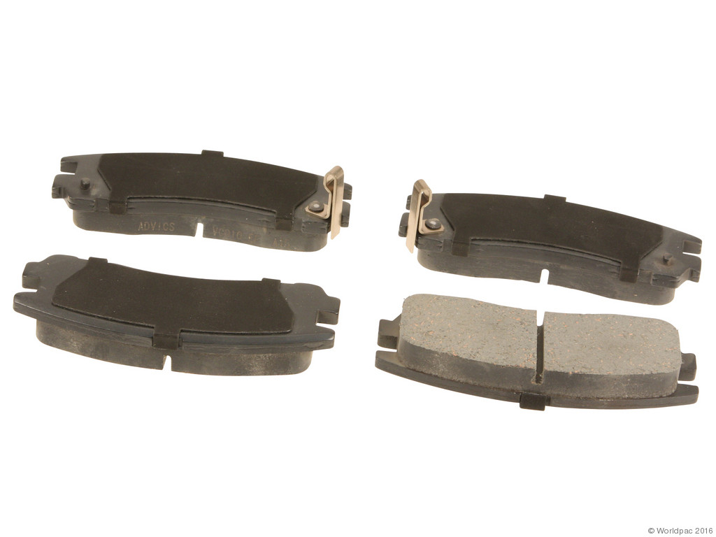 FBS - Advics Ceramic Brake Pad Set w/o Shims (Rear) - B2C W0133-2034863-ADV