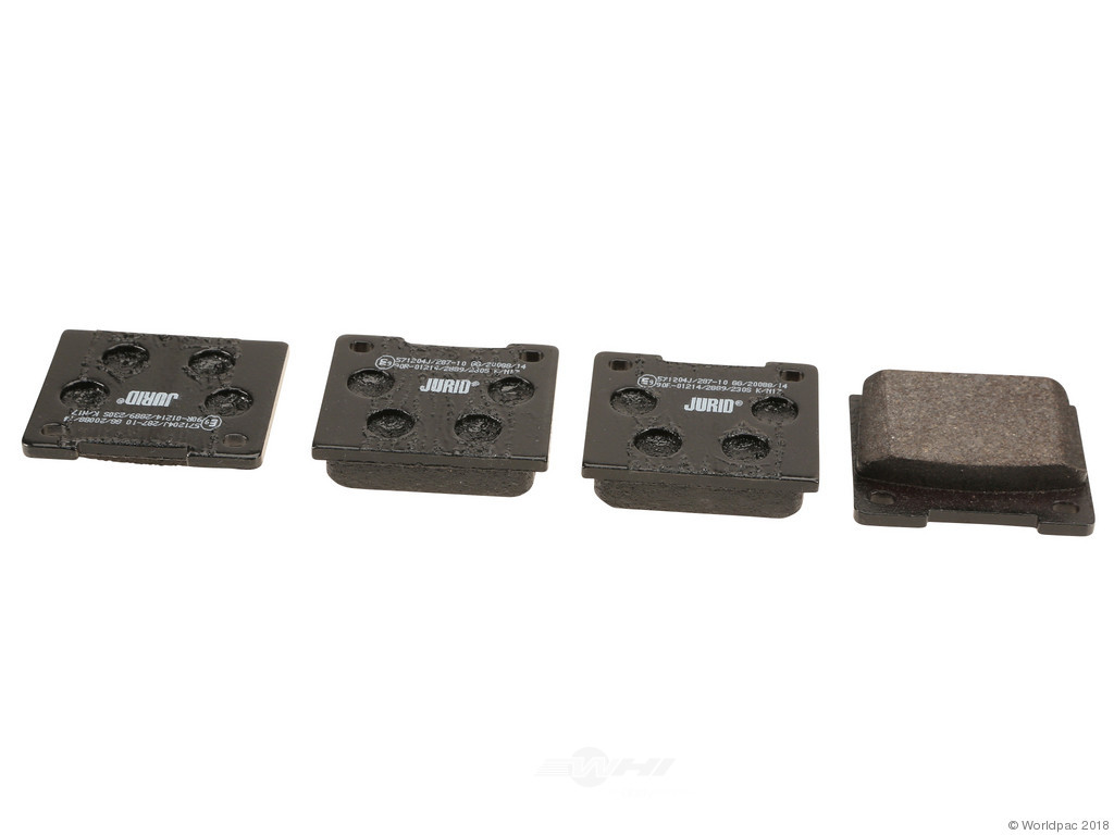 FBS - Jurid OE Formulated Brake Pad Set w/ Shims (Rear) - B2C W0133-2035431-JUR