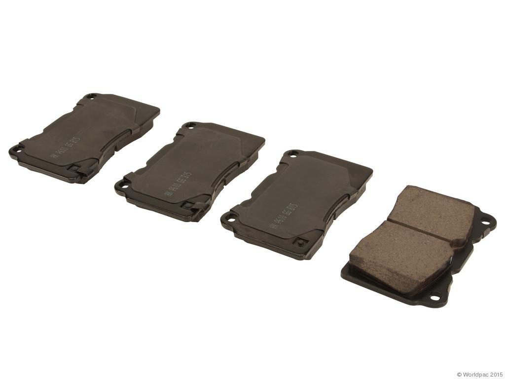 FBS - Akebono Performance Ult-Premium Brake Pad Set Creamic (Front) - B2C W0133-2036429-AKE