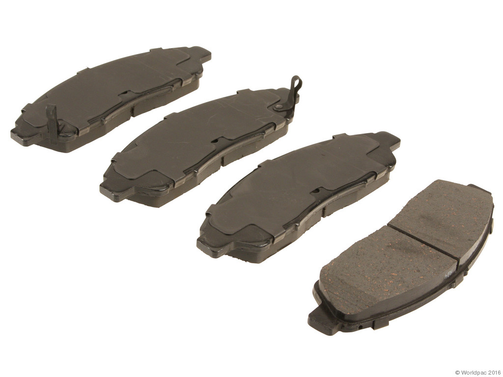 FBS - Advics Ceramic Brake Pad Set w/ Shims (Front) - B2C W0133-2037746-ADV