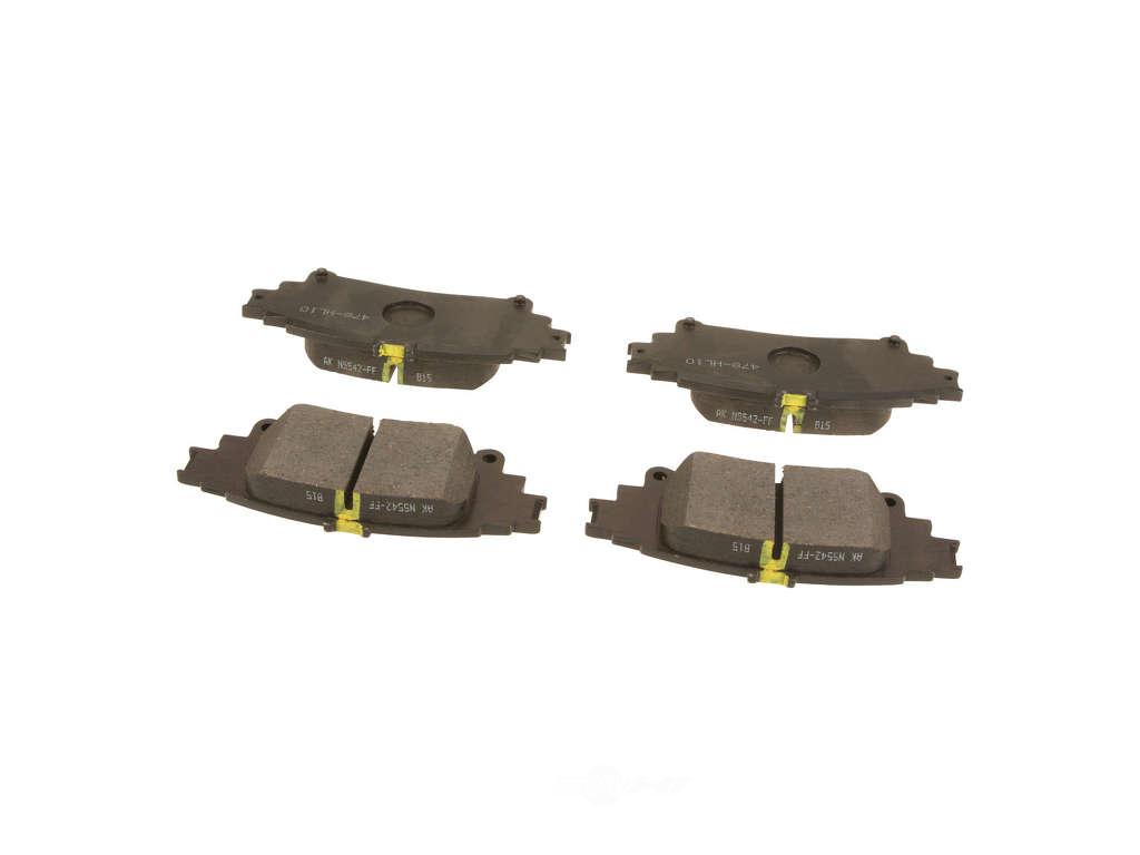 FBS - Genuine Brake Pad Set w/o Shims (Rear) - B2C W0133-2038741-OES