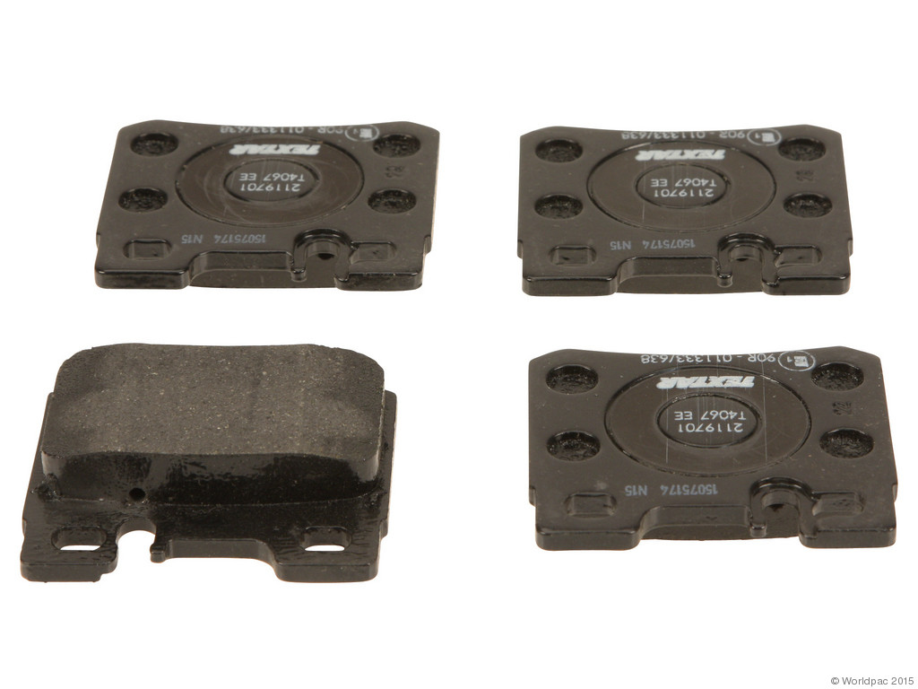 FBS - Textar OE Formulated Brake Pad Set With Shims (Rear) - B2C W0133-2039396-TEX