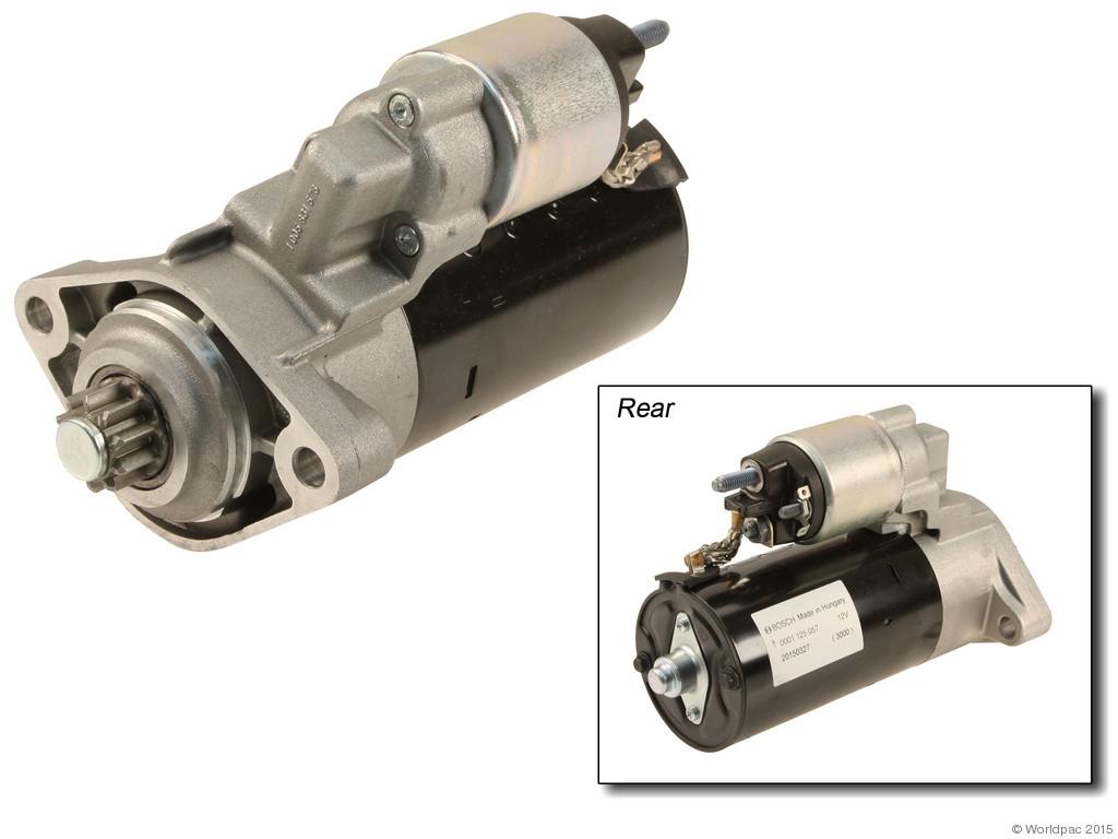 FBS - Bosch New - Lifetime Warranty Starter - B2C W0133-2040135-BOS