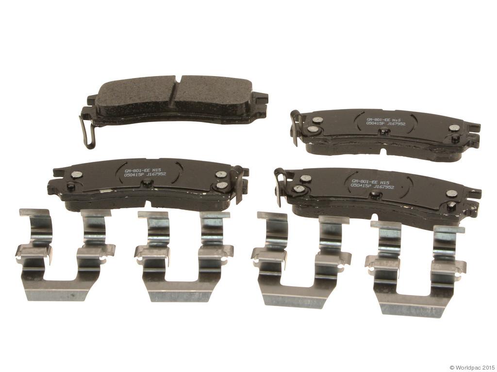 FBS - ACDelco GM OE Brake Pad Set (Rear) - B2C W0133-2043183-ACD