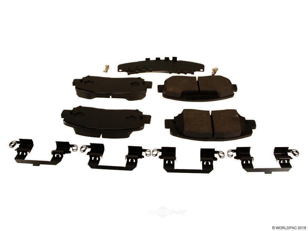 FBS - Mopar Brake Pad Set (Front) - B2C W0133-2045618-MPR