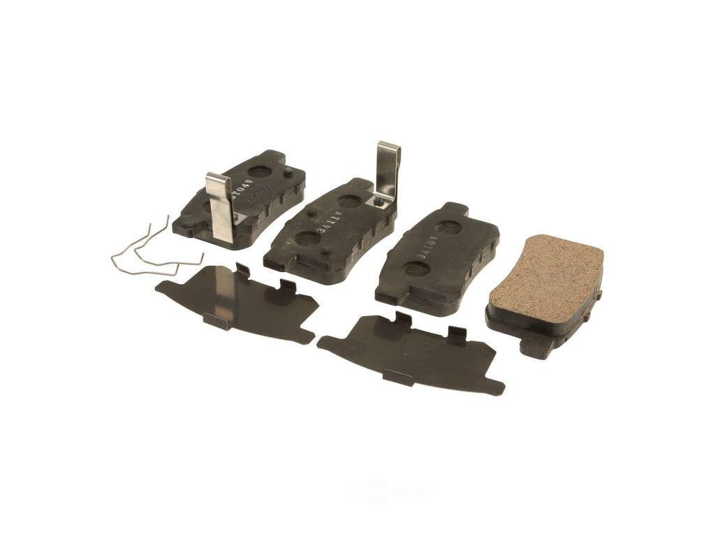 FBS - Nissin Premium Brake Pad Set With Shims (Rear) - B2C W0133-2050316-NIS