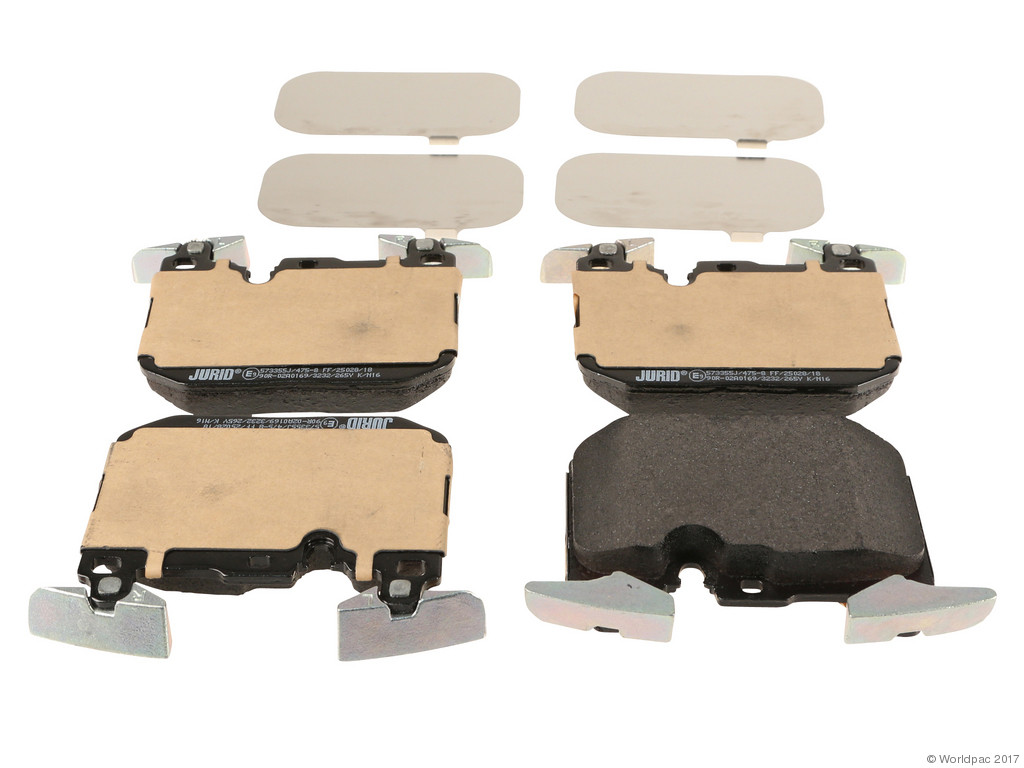 FBS - Jurid OE Replacement Brake Pad Set w/ Shims (Front) - B2C W0133-2052231-JUR