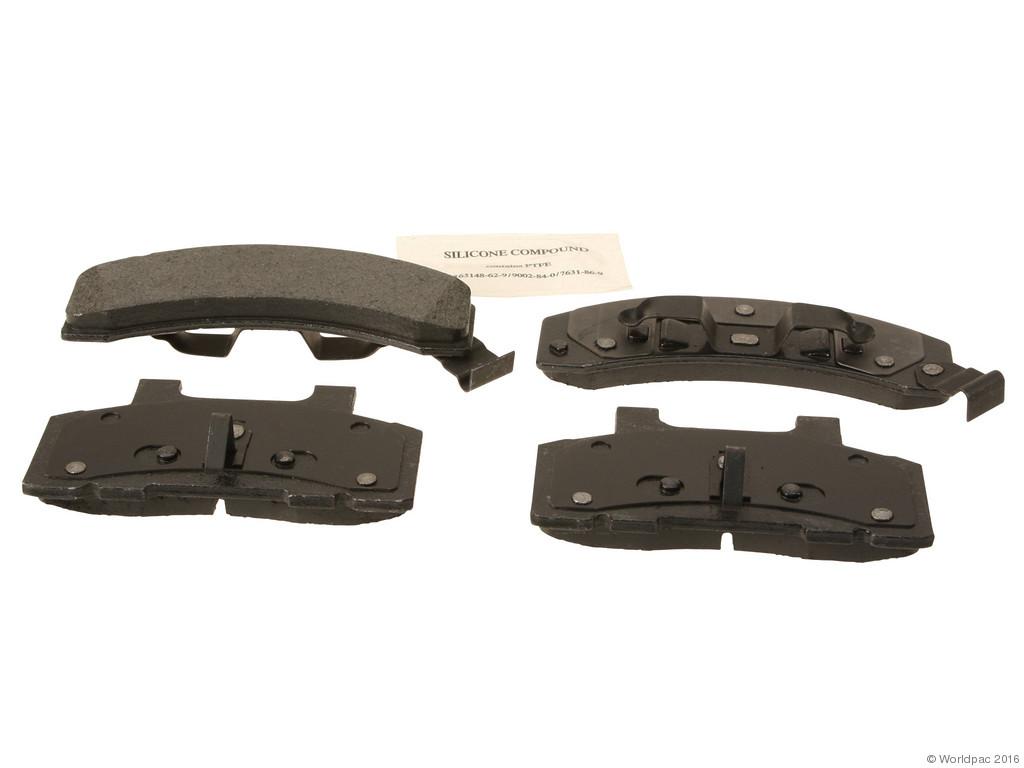 FBS - ACDelco Professional Semi-Metallic Brake Pad Set DuraStop (Front) - B2C W0133-2056905-ACD