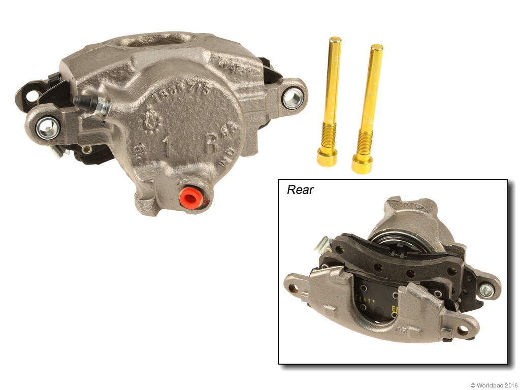 FBS - ACDelco Professional DuraStop w/ Pads Brake Caliper Reman (Front Right) - B2C W0133-2056912-ACD