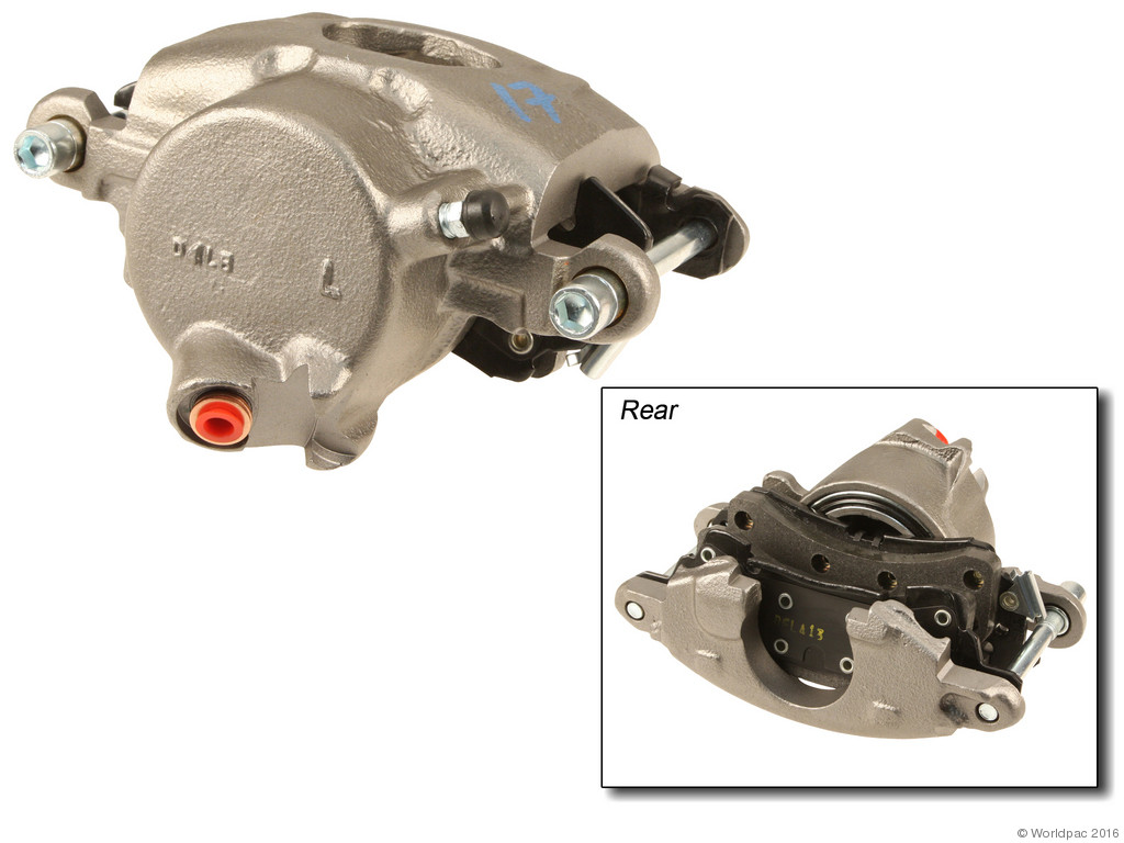 FBS - ACDelco Professional DuraStop w/ Pads Brake Caliper Reman (Front Left) - B2C W0133-2056913-ACD