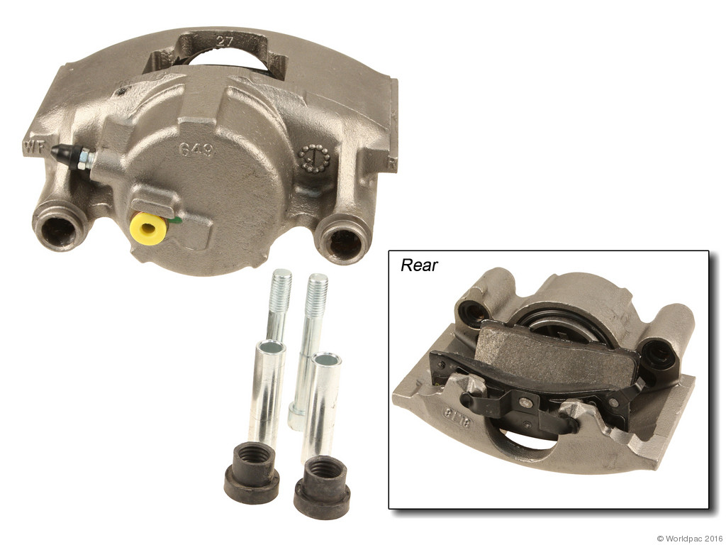 FBS - ACDelco Professional DuraStop w/ Pads Brake Caliper Reman (Front Right) - B2C W0133-2056923-ACD
