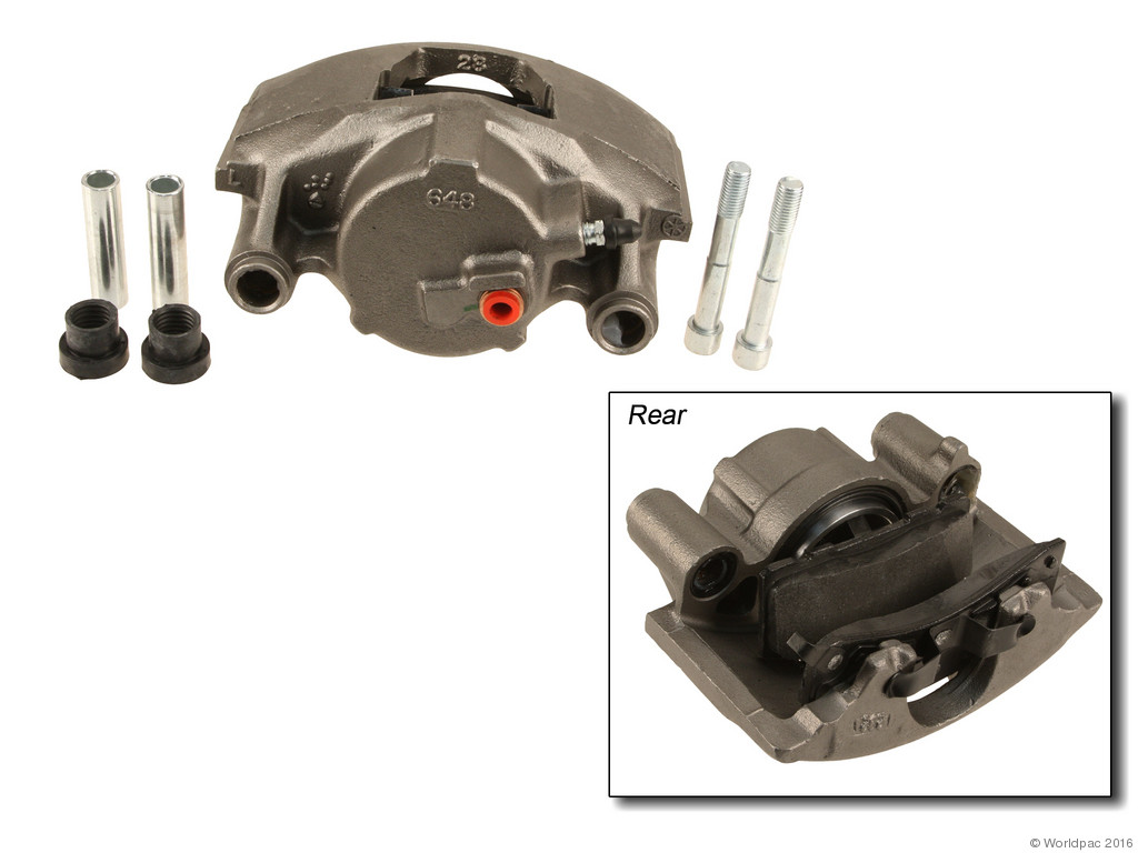 FBS - ACDelco Professional DuraStop w/ Pads Brake Caliper Reman (Front Left) - B2C W0133-2056924-ACD
