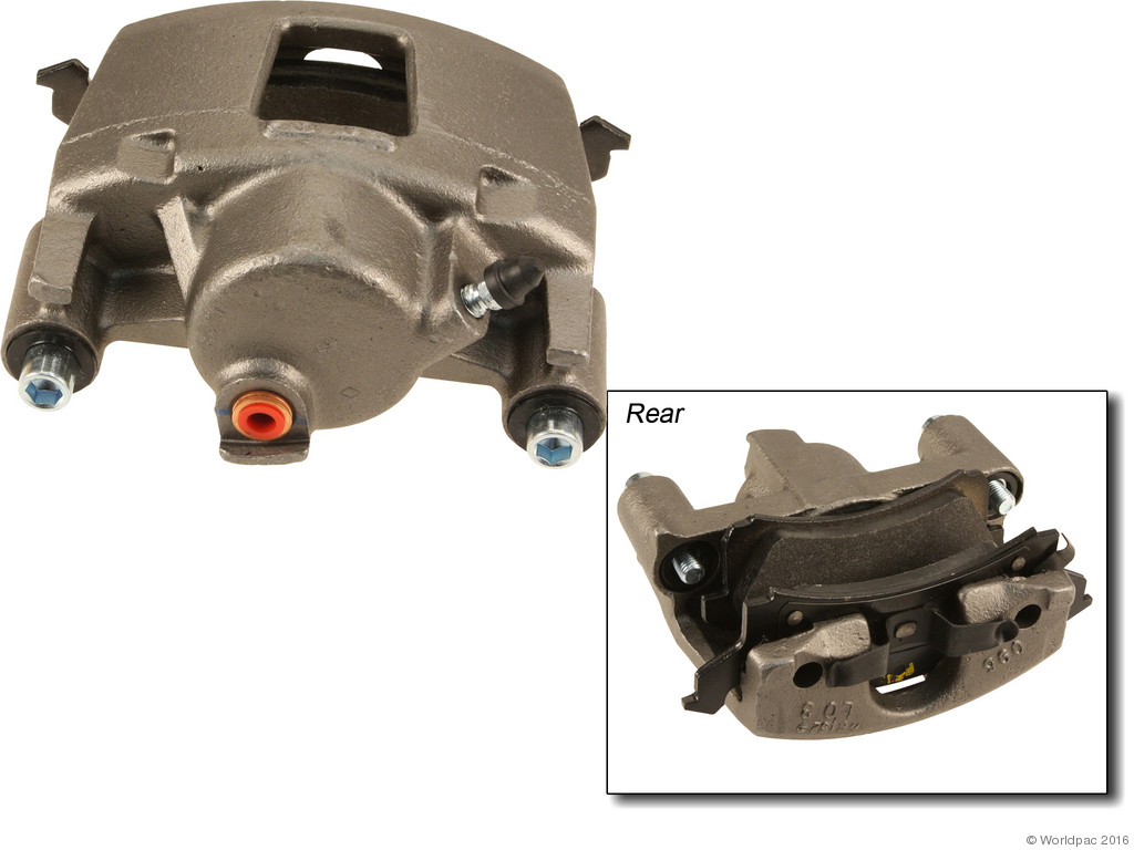 FBS - ACDelco Professional DuraStop w/ Pads Brake Caliper Reman (Front Right) - B2C W0133-2056936-ACD