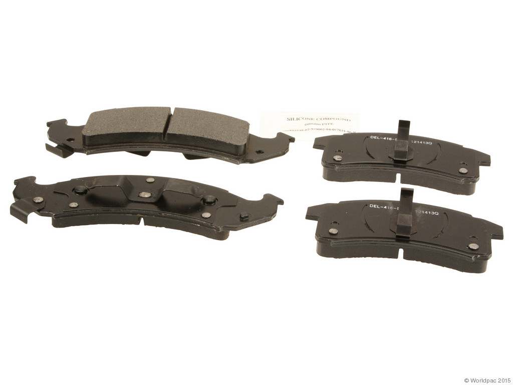 FBS - ACDelco Professional Severe-Duty Brake Pad Set DuraStop Semi-Metallic (Front) - B2C W0133-2056952-ACD