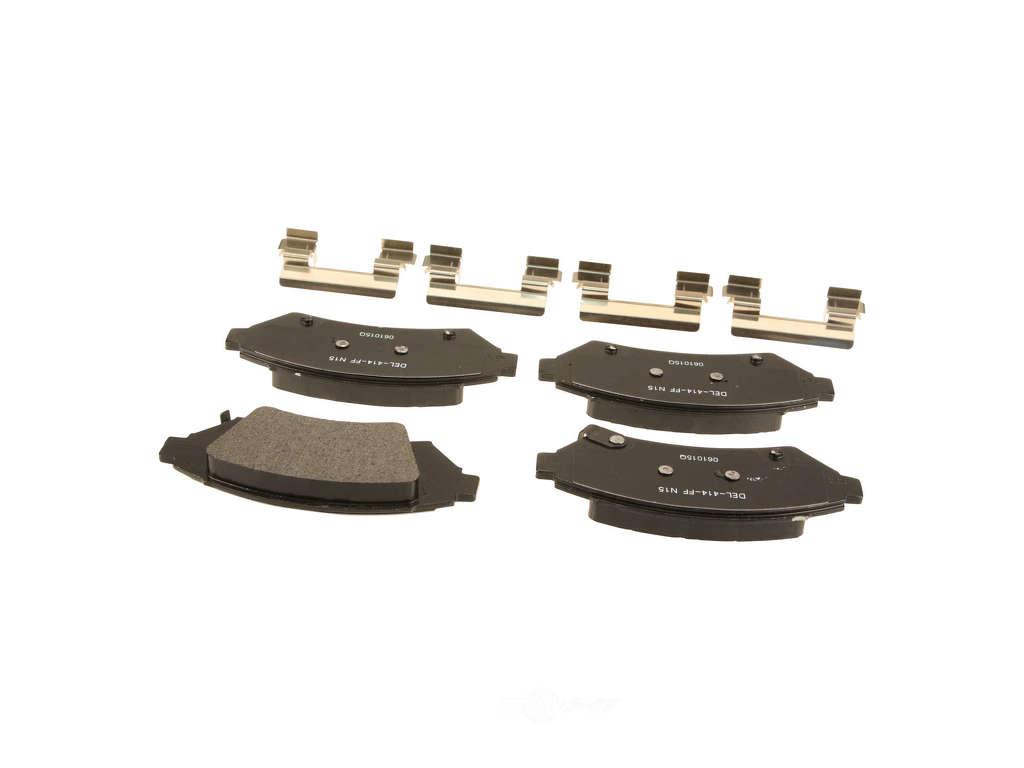 FBS - ACDelco Professional Semi-Metallic DuraStop - w/ Hardware (Front) - B2C W0133-2056976-ACD