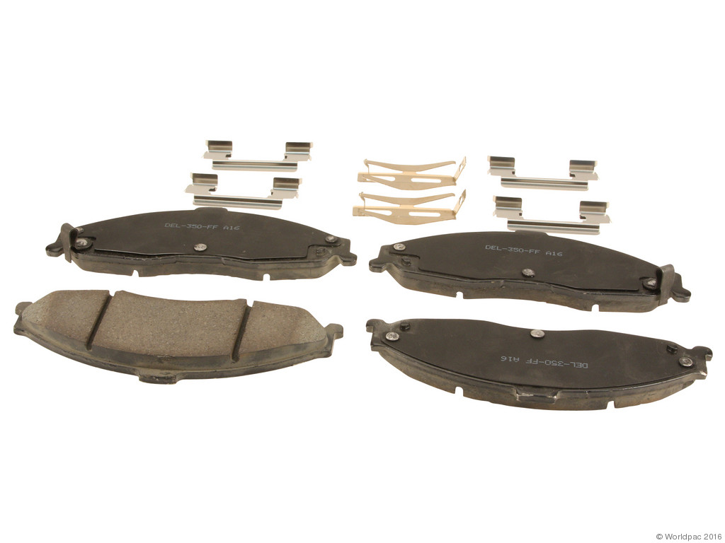 FBS - ACDelco Professional Ceramic Brake Pad Set DuraStop - w/ Hardware (Front) - B2C W0133-2057836-ACD