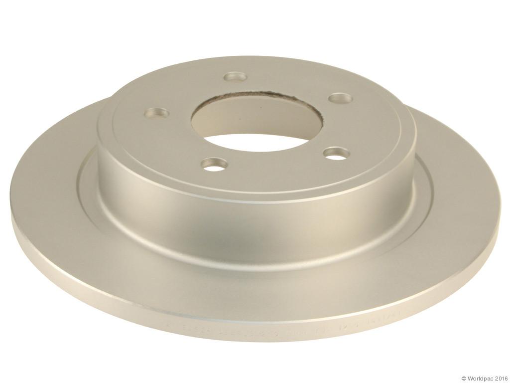 FBS - Bosch QuietCast Premium Coated Brake Disc (Rear) - B2C W0133-2074636-BOS