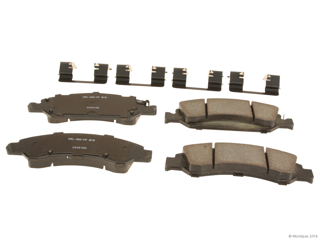 FBS - ACDelco Professional Ceramic Brake Pad Set DuraStop - w/ Hardware (Front) - B2C W0133-2075273-ACD