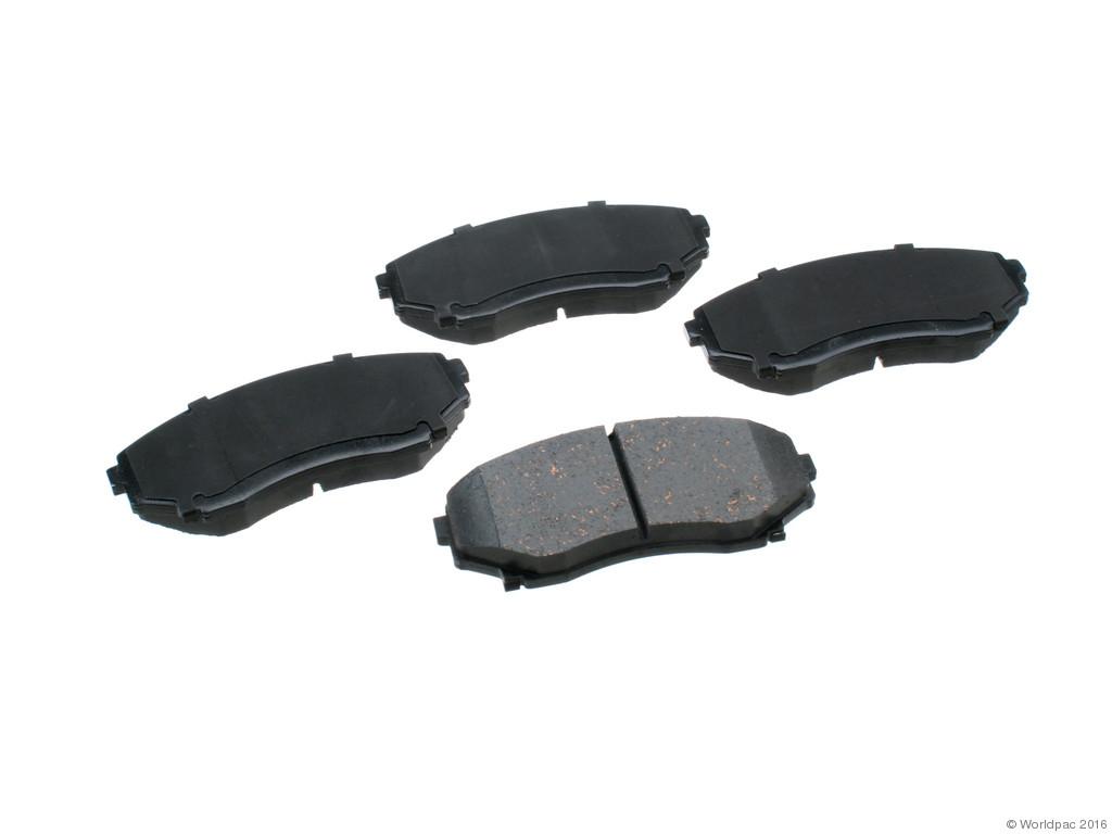 FBS - Advics Ceramic OE Replacement Brake Pad Set w/o Shims (Front) - B2C W0133-2076351-ADV