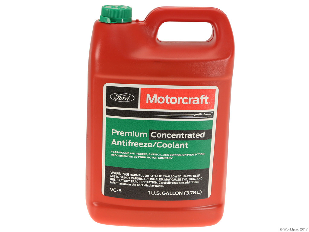 FBS - Motorcraft Concentrate Coolant/Antifreeze 1 Gallon Green - B2C W0133-2077561-MTR