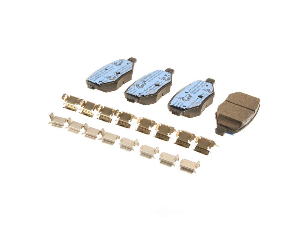 FBS - Motorcraft OE Formulated Brake Pad Set (Rear) - B2C W0133-2078464-MTR