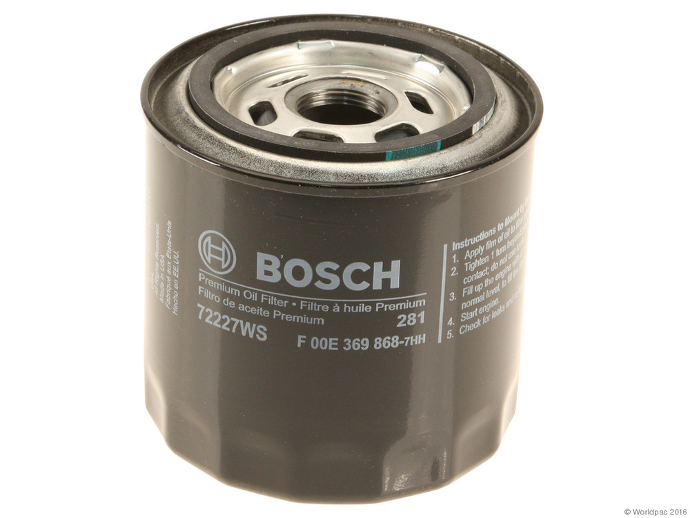 FBS - Bosch Workshop Spin-On Oil Filter Single Filter - B2C W0133-2079228-BOS