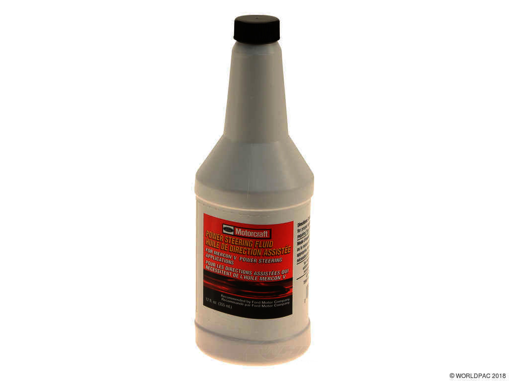 FBS - Motorcraft Conventional Mineral Power Steering Fluid Mercon V 12OZ - B2C W0133-2080645-MTR