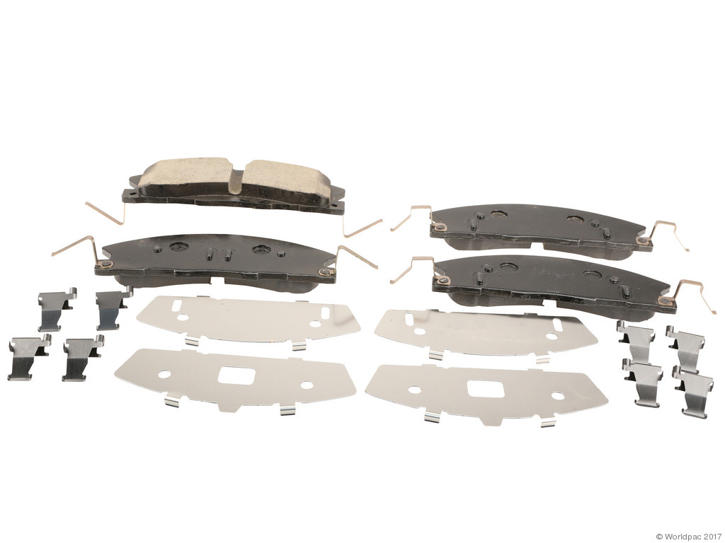 FBS - Motorcraft OE Formulated Brake Pad Set (Front) - B2C W0133-2082811-MTR