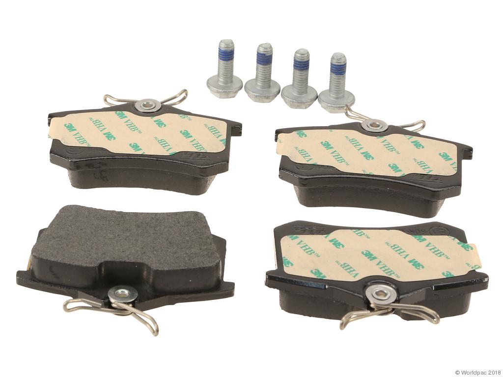 FBS - ATE Original OE Formulated Brake Pad Set w/ Shims (Rear) - B2C W0133-2087767-ATE