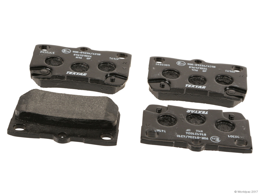FBS - Textar OE Formulated Brake Pad Set With Shims (Rear) - B2C W0133-2102286-TEX