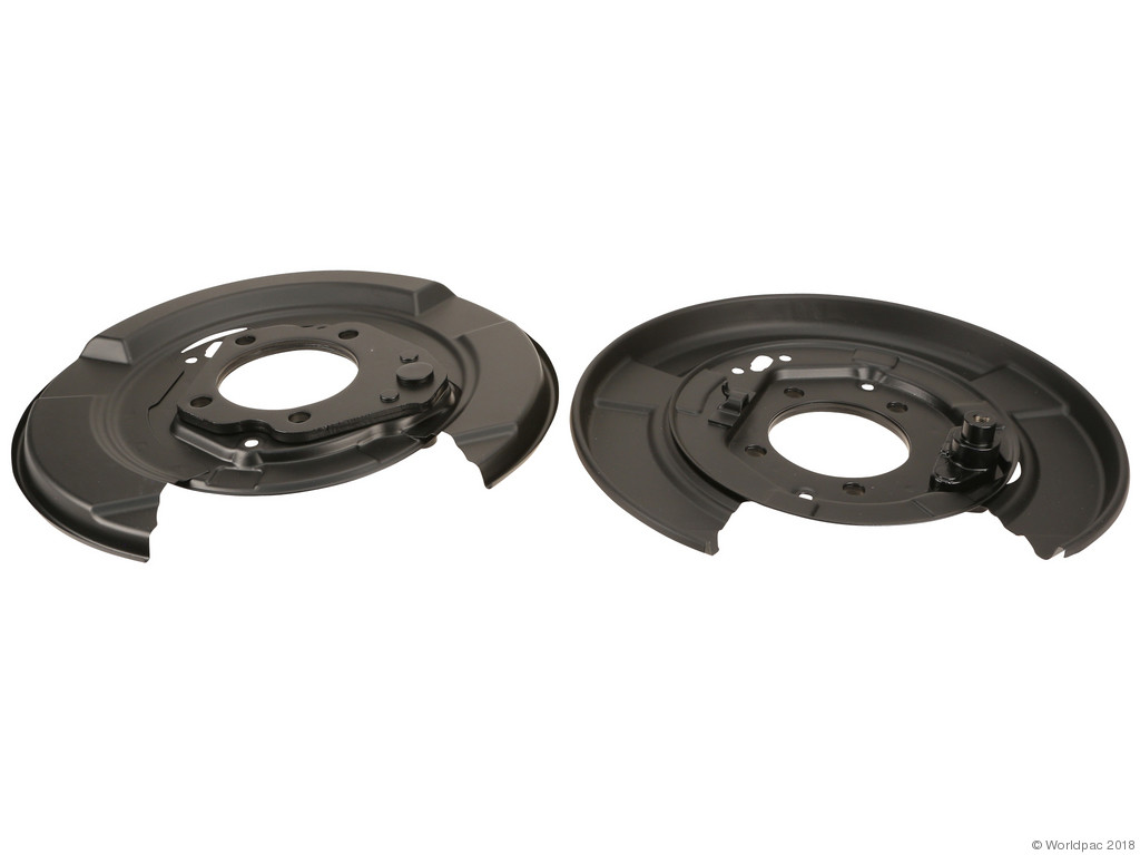 FBS - Dorman OE Solutions Brake Dust Shield Pair Left & Right - B2C W0133-2103672-DOR