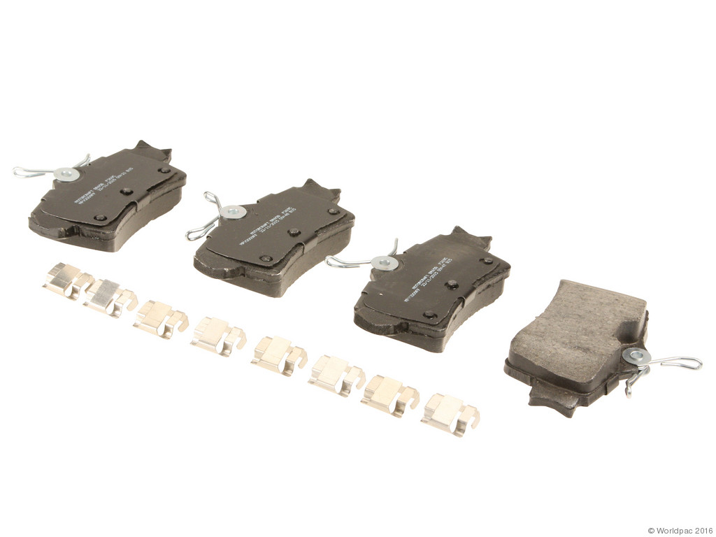 FBS - Motorcraft Standard Premium Brake Pad Set Organic (Rear) - B2C W0133-2104544-MTR