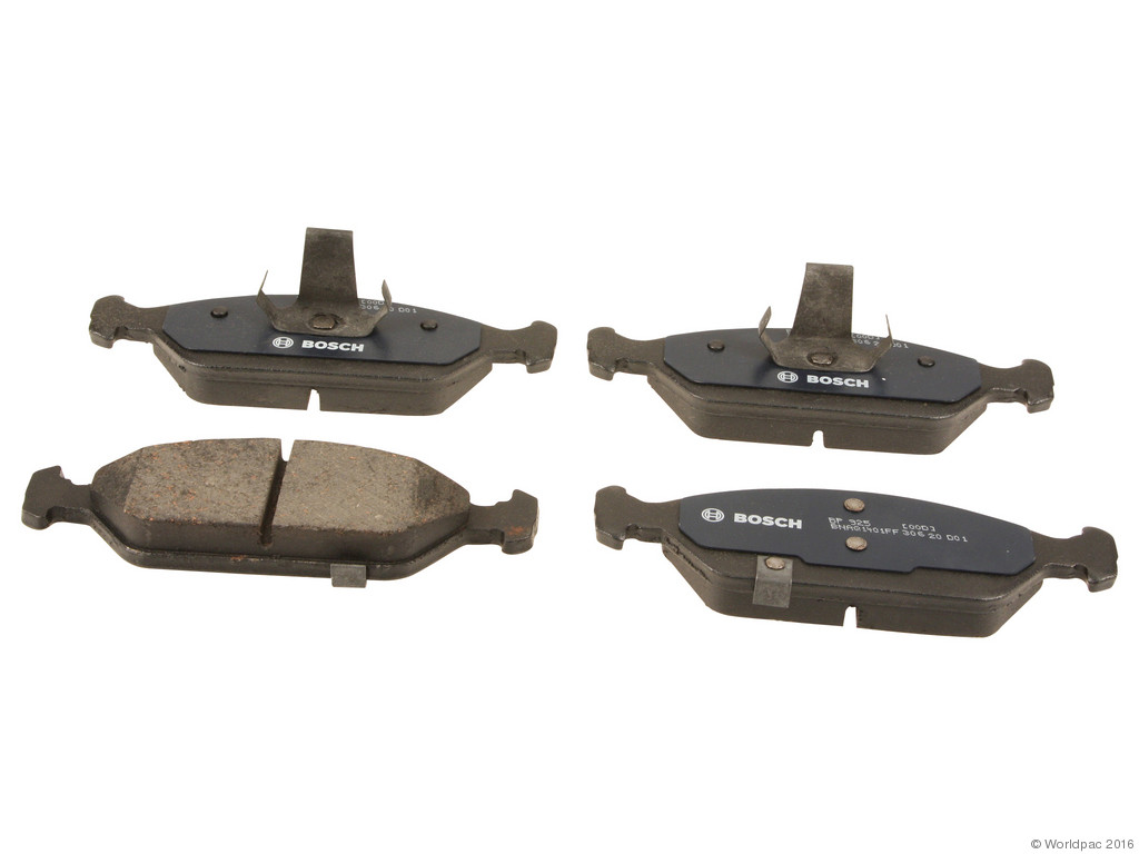 FBS - Bosch QuietCast Premium Brake Pad Set With Shims MST (Front) - B2C W0133-2106044-BOS