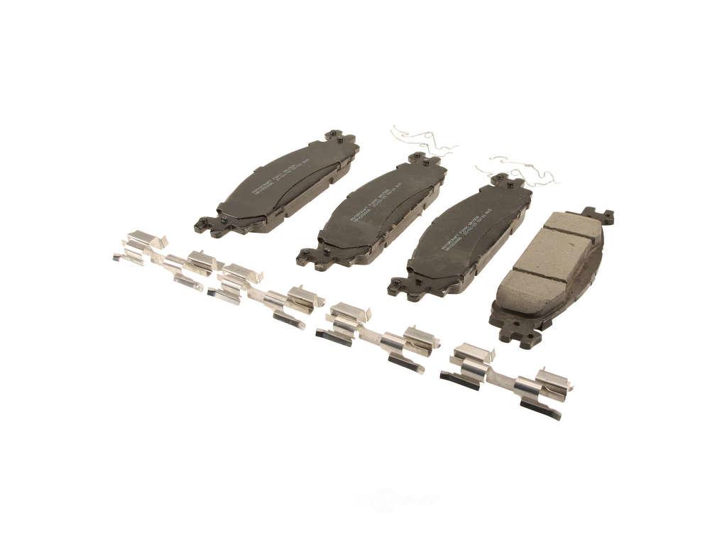 FBS - Motorcraft Standard Premium Brake Pad Set - Value Line (Front) - B2C W0133-2110903-MTR