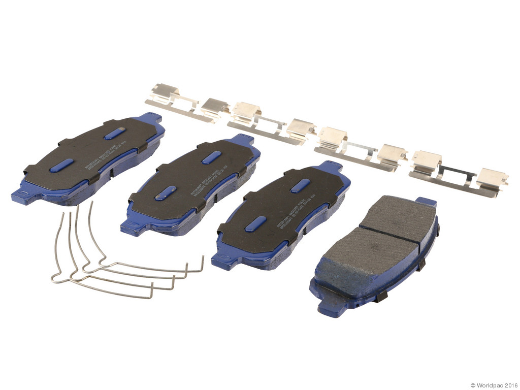 FBS - Motorcraft Super Duty Brake Pad Set (Front) - B2C W0133-2190334-MTR