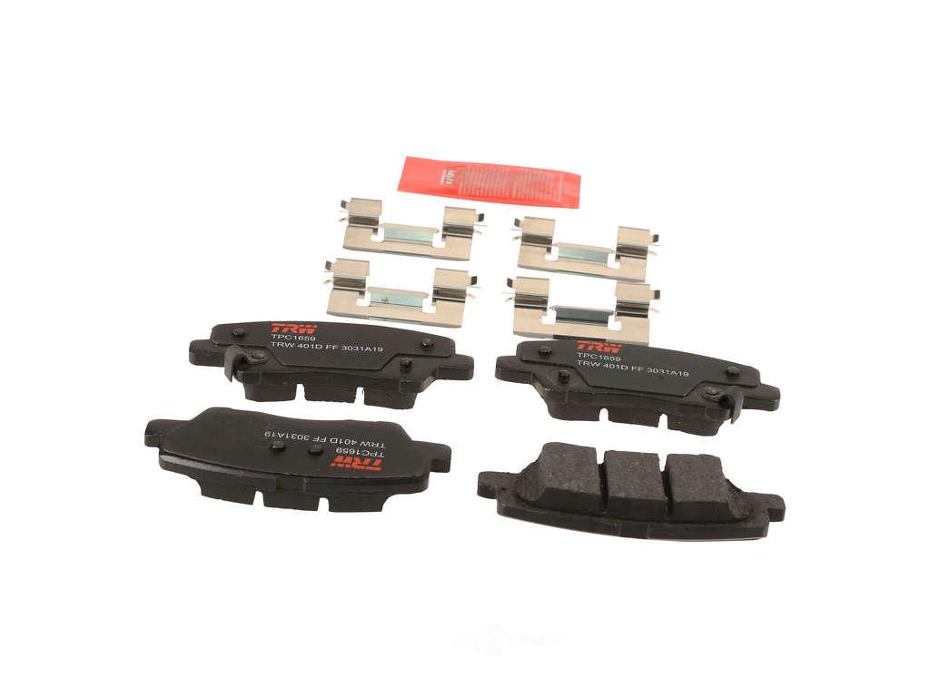 FBS - TRW Ceramic Brake Pad Set Premium (Rear) - B2C W0133-2238803-TRW