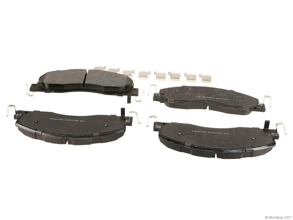 FBS - Wagner Brake Severe Duty Semi-Metallic Brake Pad Set (Front) - B2C W0133-2267901-WAG