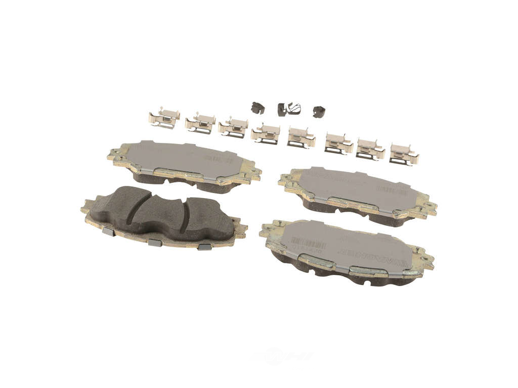 FBS - Wagner Brake OEX Ceramic Brake Pad Set w/Hardware Kit (Front) - B2C W0133-2267991-WAG