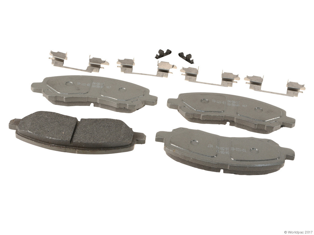 FBS - Wagner Brake Thermoquiet Semi-Metallic Brake Pad Set (Front) - B2C W0133-2268134-WAG