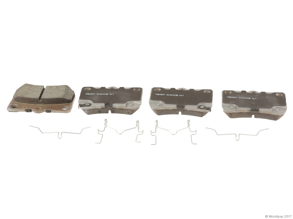 FBS - Wagner Brake Thermoquiet Ceramic Brake Pad Set (Rear) - B2C W0133-2268136-WAG